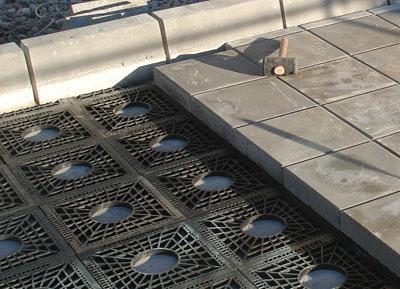 Pavimentos desmontables actisa for Pavimento ceramico hexagonal
